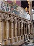 SK7953 :  Sedilia, St Mary Magdalene church, Newark by J.Hannan-Briggs