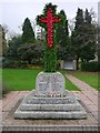 NZ1366 : Heddon War Memorial - Armistice Day by Andrew Curtis