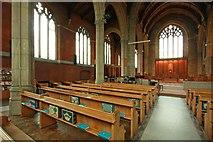 TQ3191 : St Cuthbert, Wolves Lane - North arcade by John Salmon
