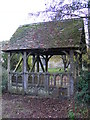 TM3485 : Lych Gate to St.Margaret Church by Adrian Cable
