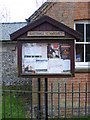 TM3585 : Ilketshall St.Margaret Village Notice Board by Adrian Cable
