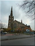 SJ9499 : Albion United Reformed Church, Ashton-Under-Lyne by Alexander P Kapp