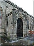 SJ9498 : St Michael & All Angels Church, Ashton-Under-Lyne, Porch by Alexander P Kapp