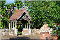 TG2006 : Lych gate, St Andrew's Church by N Chadwick