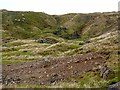 NY8235 : Old mineral workings on Grasshill Common by Oliver Dixon