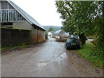 NM7047 : Estate road between Achranich Bridge and Estate Yard by Peter Bond