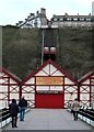 NZ6621 : Saltburn by the Sea Cliff Lift by derek dye