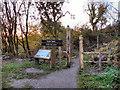 SJ9482 : Entrance to Poynton Coppice by David Dixon