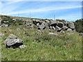 SO6176 : Dhustone boulders by Richard Webb