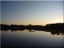 NT6578 : Rural East Lothian : Sunrise At Seafield Pond, Belhaven by Richard West