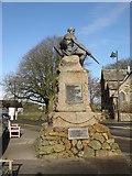 NX6851 : War Memorial at Kirkcudbright by M J Richardson
