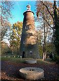TQ1272 : The Shot Tower, Crane Park by Des Blenkinsopp