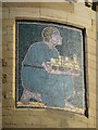 SN5881 : Mosaic panel on old college buildings, Aberystwyth by Chris Allen