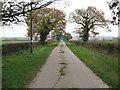 SJ6663 : New Lane by Dr Duncan Pepper