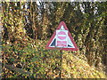 SJ6562 : DIY Roadsign at Primrose Hill by Dr Duncan Pepper