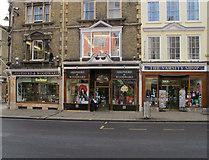 SP5106 : Shepherd and Woodward shops, High Street Oxford by David Hawgood
