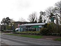SP8633 : Enterprise car rentals by Stephen Craven