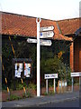 TM2373 : Roadsign on New Street by Adrian Cable