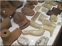 SP5106 : Votive offerings, Pitt Rivers Museum by David Hawgood