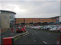 NZ4920 : Northern entrance to the Hill Street Centre in Middlesbrough by peter robinson