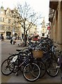 SP5106 : Bicycles at Carfax by Fly