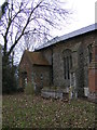 TM1874 : The Porch of St.John the Baptist Church, Denham by Geographer