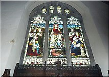 TQ4210 : St Thomas à Becket, Cliffe: stained glass windows (b) by Basher Eyre
