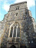 TQ4210 : St Thomas a Becket, Cliffe: tower by Basher Eyre