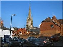 TQ1649 : Spire of St. Martin's Church by Paul Gillett