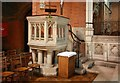 TQ3571 : All Saints, Trewsbury, Road, Sydenham - Pulpit by John Salmon