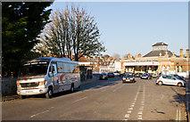 TQ4109 : Station Road, Lewes by Martin Addison
