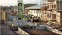 J3271 : New train maintenance depot, Belfast (16) by Albert Bridge