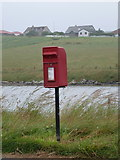 HU4039 : Scalloway: postbox № ZE2 97, Blythoit by Chris Downer