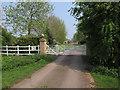 TL5777 : Private road to Nornea Farm by Hugh Venables