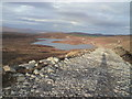 NH3933 : Track along by Loch Can nam Badan by Craig Wallace
