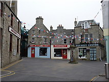 HU4741 : Lerwick: the Market Cross from the east by Chris Downer