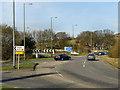 SJ9895 : Hattersley Roundabout by David Dixon