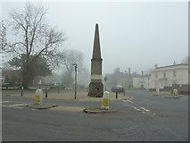 TQ0639 : Obelisk at Cranleigh by Dave Spicer