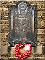 SJ9992 : War Memorial, Chisworth Methodist Church by David Dixon