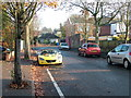 TL8464 : York Road in Autumn by John Goldsmith