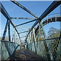 ST1380 : Footbridge and pipeline [2] by Robin Drayton