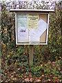 TM1773 : Denham Village Notice Board by Adrian Cable