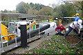 TQ0531 : Improvements at Baldwin's Knob Lock by Graham Horn