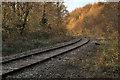 SS8583 : Railway in Cwm Ffos by eswales