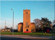 TQ1372 : St. Augustine's at Sunset by Des Blenkinsopp