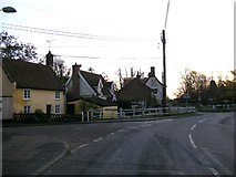TM4077 : B1124 The Street, Holton by Adrian Cable