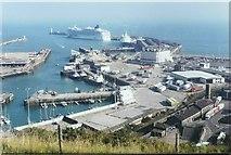 TR3140 : Dover Western Docks by John Baker