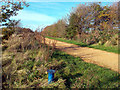 TQ1274 : Borehole on Hounslow Heath by Des Blenkinsopp