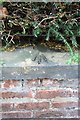 NY3954 : Benchmark on Holme View House wall, Norfolk Road by Roger Templeman