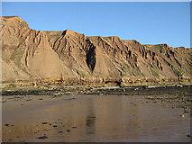 TA1281 : Rock formations, Carr Naze by Pauline E